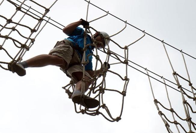 Highwire đòi hỏi có sự phối hợp nhịp nhàng của chân tay