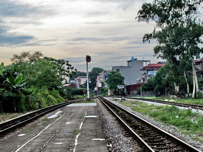 Ga xép phố huyện một thuở