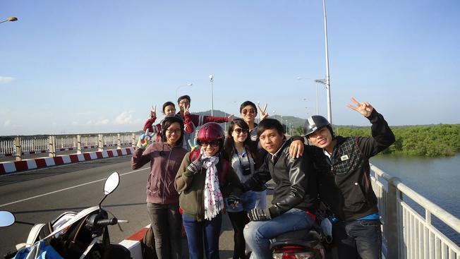 Phượt Vũng Tàu bằng xe máy một hoạt động được giới trẻ yêu thích