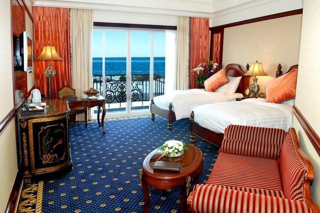 Phòng nghỉ sang trọng với tầm nhìn ra biển sang trọng của Minh Đăng