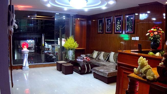 Đại sảnh sang trọng của khách sạn Minh Đăng