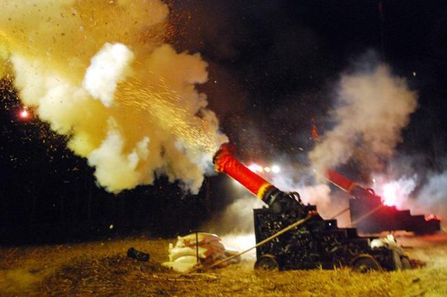 Súng Thần Công được bắn vào các dịp lễ đặc biệt ở Vũng Tàu
