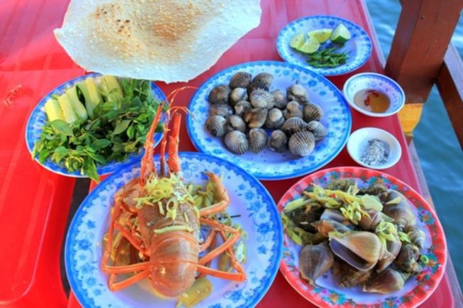 Những món hải sản Vũng Tàu