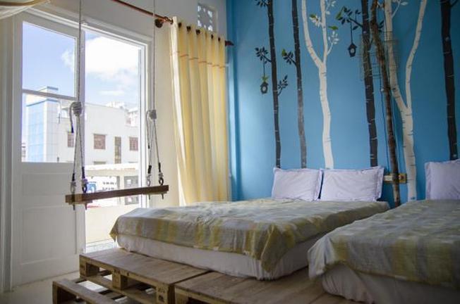 Nhà nghỉ Beepub giá chỉ dưới 200.000 đồng phòng đôi