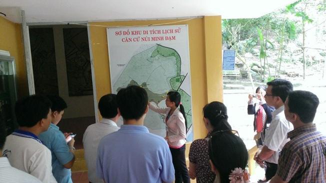 Giới thiệu về khu di tích lịch sử Minh Đạm