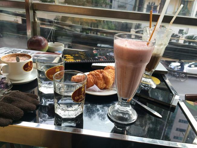 Những món bánh ngon và cà phê sáng tuyệt vời tại JC Uyên Phương