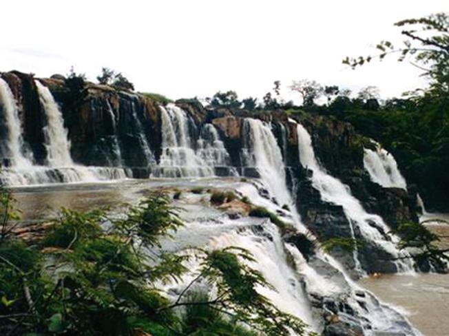 Thác Cam ly điểm du lịch ở Đà Lạt hấp dẫn hơn vào mùa mưa