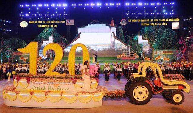 Lễ khai mạc Festival Đà Lạt 2014