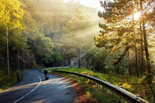 Đèo Prenn điểm du lịch Đà Lạt tuyệt đẹp dưới ánh bình minh