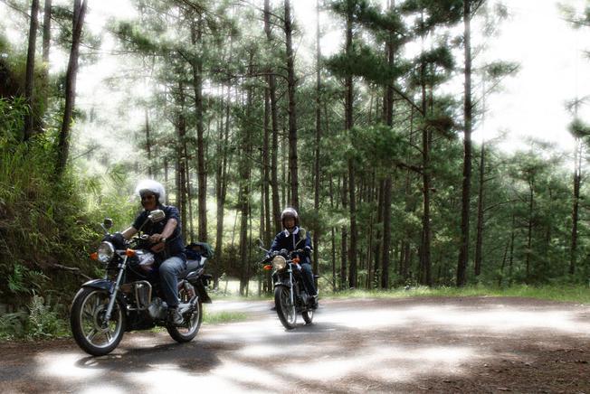 Chinh phục cung đường bằng xe máy là đam mê của dân phượt