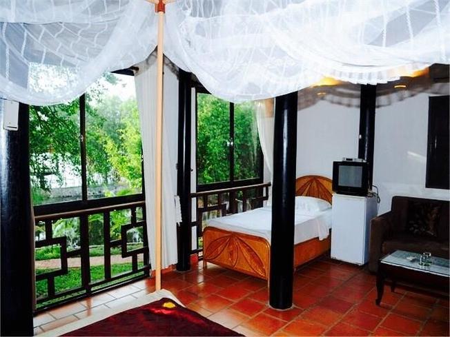 Phòng nghỉ cao cấp phục vụ du khách đến nghỉ ngơi