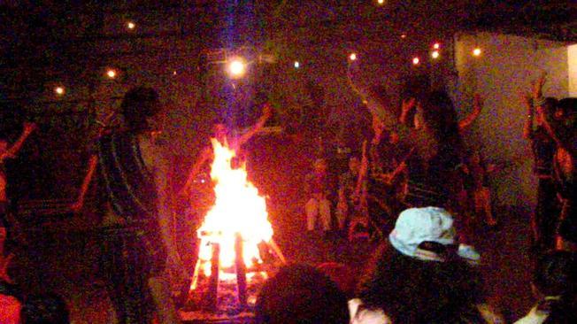 Người K'Ho bên đốm lửa