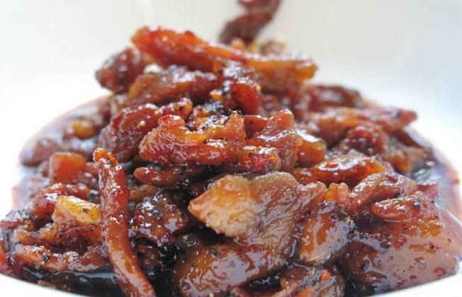 Đậm đà hương vị thịt gừng Nùng Dín