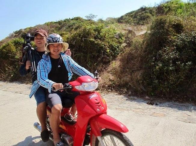 Thuê xe gắn máy giúp dễ dàng tham quan những cảnh đẹp Đà lạt