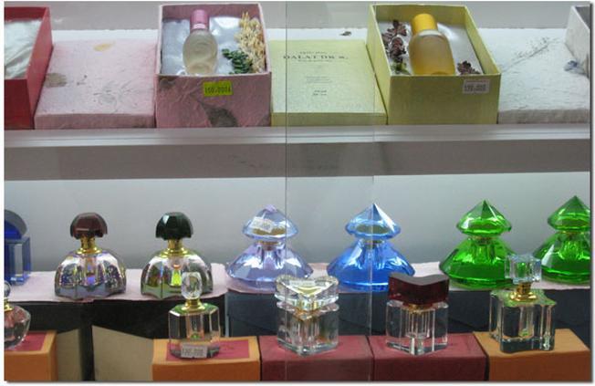 Nước hoa Đà Lạt được bán nhiều tại các cửa hàng