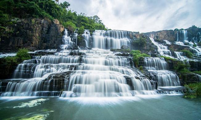 Thác Pongour một trong những thác nước hùng vĩ nhất Đà Lạt