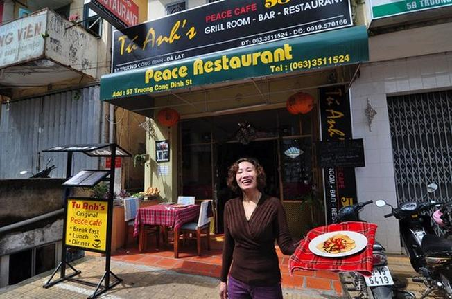 Tu Anh's Peace Cafe – nhà hàng hấp dẫn cả du khách trong và ngoài nước