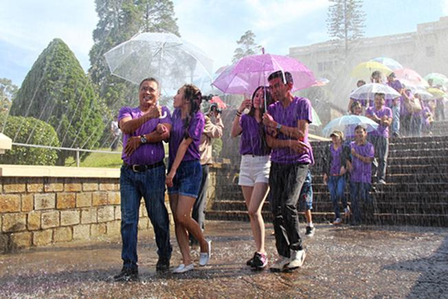 Lãng mạn với lễ hội mưa Đà Lạt