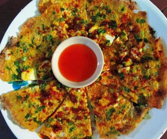 Bánh tráng nướng trứng món ăn ngon ở Đà Lạt