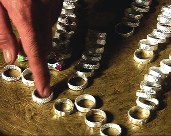 Nhẫn bạc của người Churu