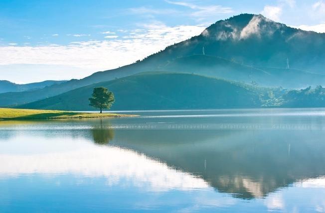 Hồ Suối Vàng – Đankia - hồ nước lớn nhất thành phố Đà Lạt