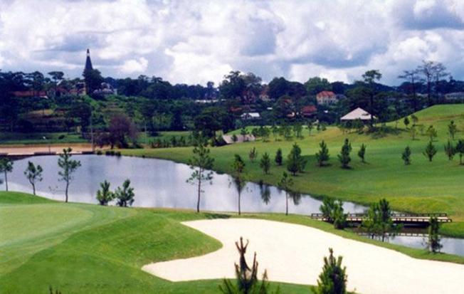Sân golf có địa hình đẹp, độ thách thức cao