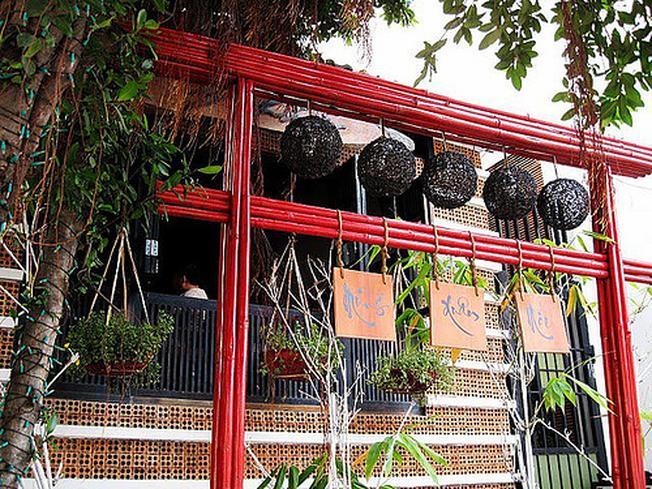 Một góc nhỏ xinh đẹp của cafe Phú Sĩ