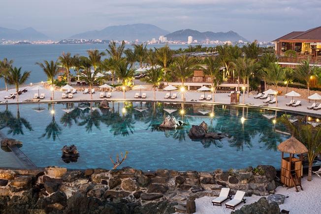 Amiana Resort Nha Trang với khung cảnh tuyệt đẹp