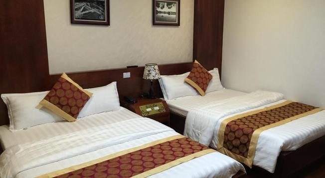 Phòng nghỉ khách sạn bình dân, sạch sẽ