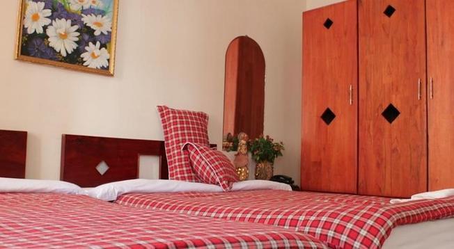 Phòng ngủ ấm áp của khách sạn Dreams