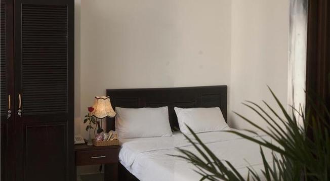 Phòng ngủ tại khách sạn Levis