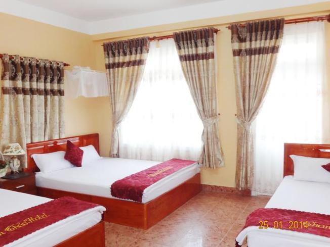Khách sạn Thanh Thảo có các phòng ngủ lớn phục vụ cho cả gia đình