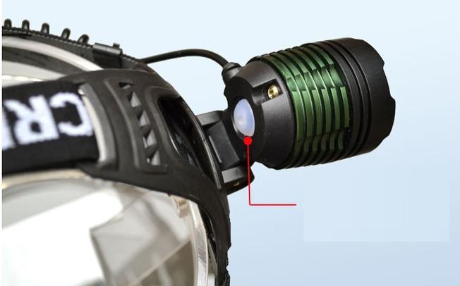 Đèn pin đội đầu sẽ giúp xua tan bóng tối và màn đen của bóng đêm