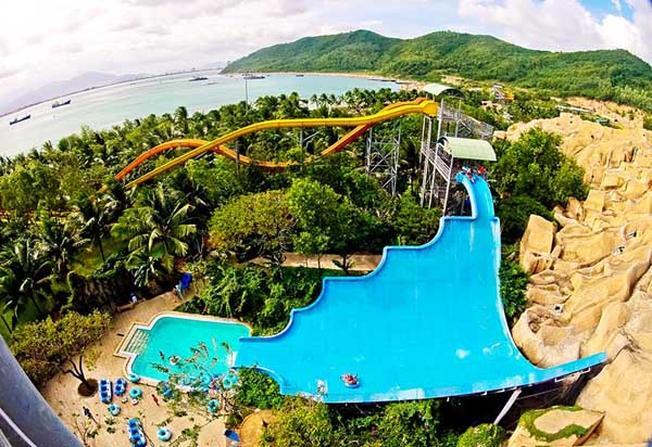 Công viên nước ngọt trên bãi biển đầu tiên ở Việt Nam