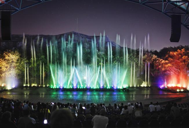Nhạc nước - địa điểm du lịch Nha Trang