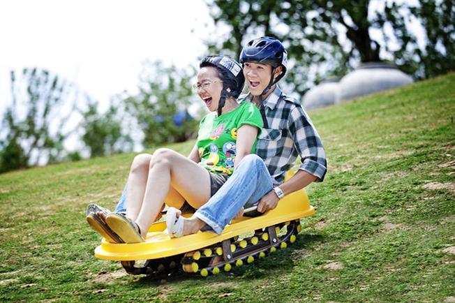 Trượt cỏ Thạch Lâm