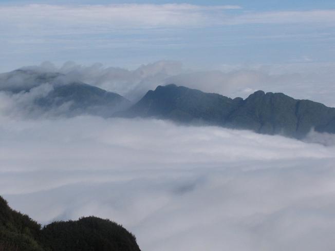 Biển mây nhìn từ đỉnh Fansipan