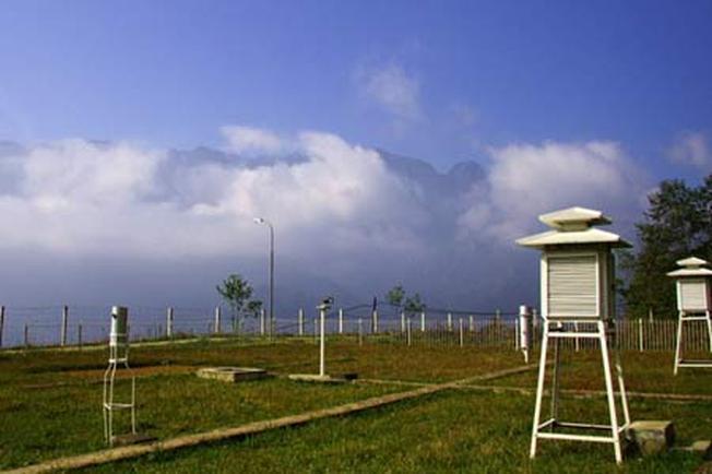 Khung cảnh thiên nhiên thơ mộng trên Trạm khí tượng thủy văn Sa Pa