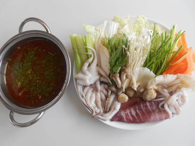 Món ăn Đà Nẵng đáng thử lẩu mực