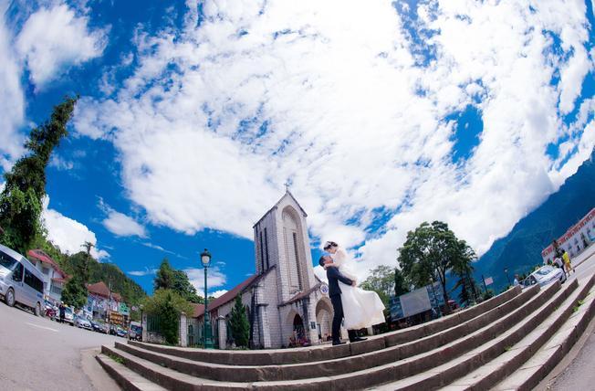Chụp ảnh cưới ở Sa Pa