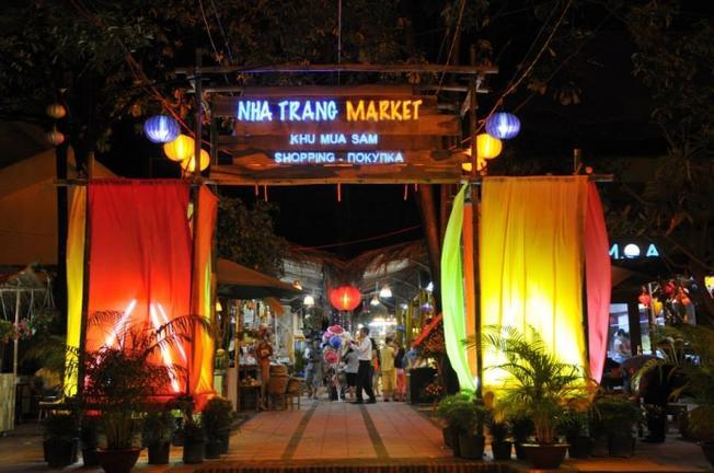 Một góc của phố Tây ở Nha Trang