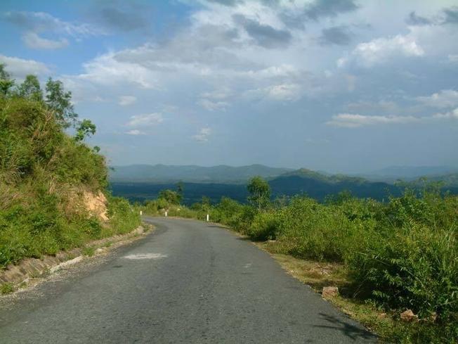 Con đường quanh co đến làng quê Đại Bình điểm du lịch nổi tiếng