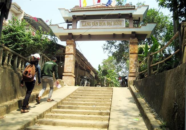 Nét xưa của làng Đại Bình