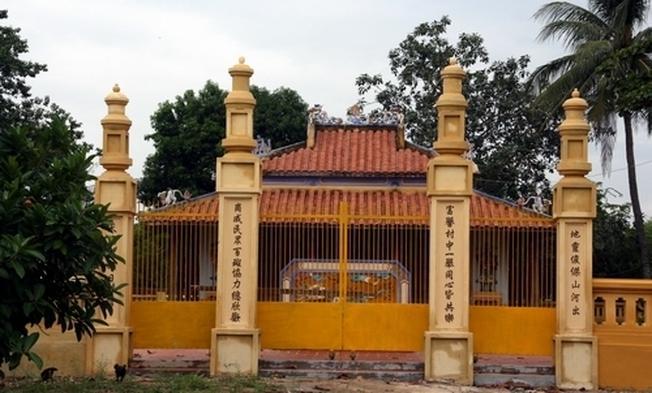 Đình làng Phú Cang được xây dựng từ cuối thế kỷ 17