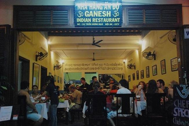 Ganesh chuyên các món ăn Ấn Độ tại Hội An