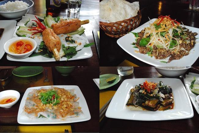 Món ăn đường phố hấp dẫn được phục vụ tại Morning Glory