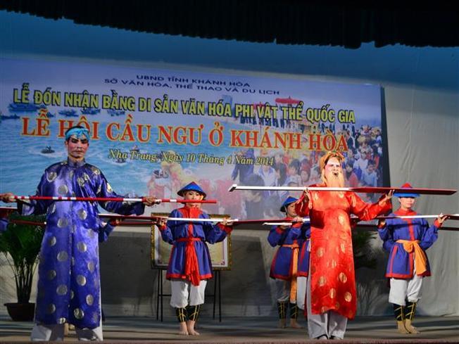 Lễ hội cầu ngư Nha Trang