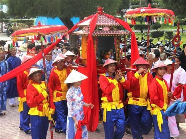 Nghi thức lễ hội cầu ngư Nha Trang