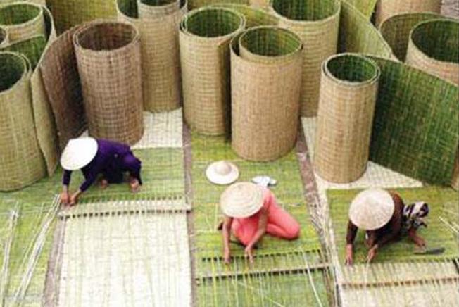 Tour du lịch Nha Trang đến với làng chiếu Mỹ Trạch
