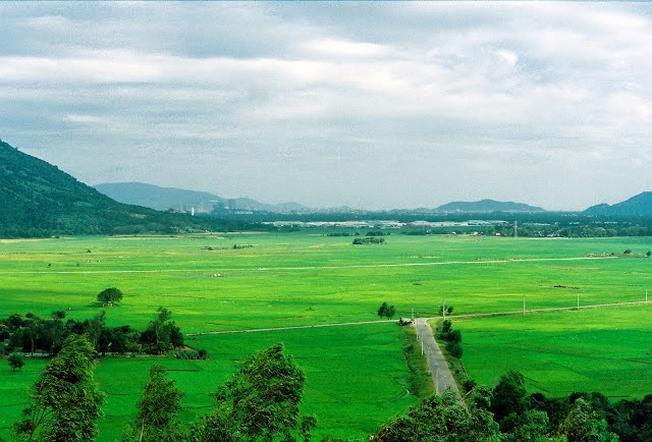 Vùng ngoại ô Nha Trang